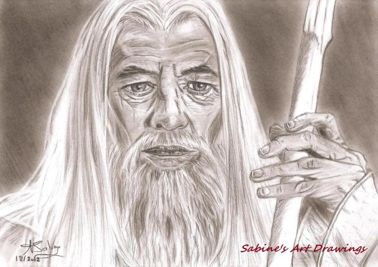 Ian McKellen  'Gandalf dans le seigneur des anneaux'