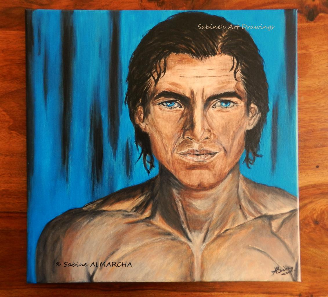l'homme au regard bleu