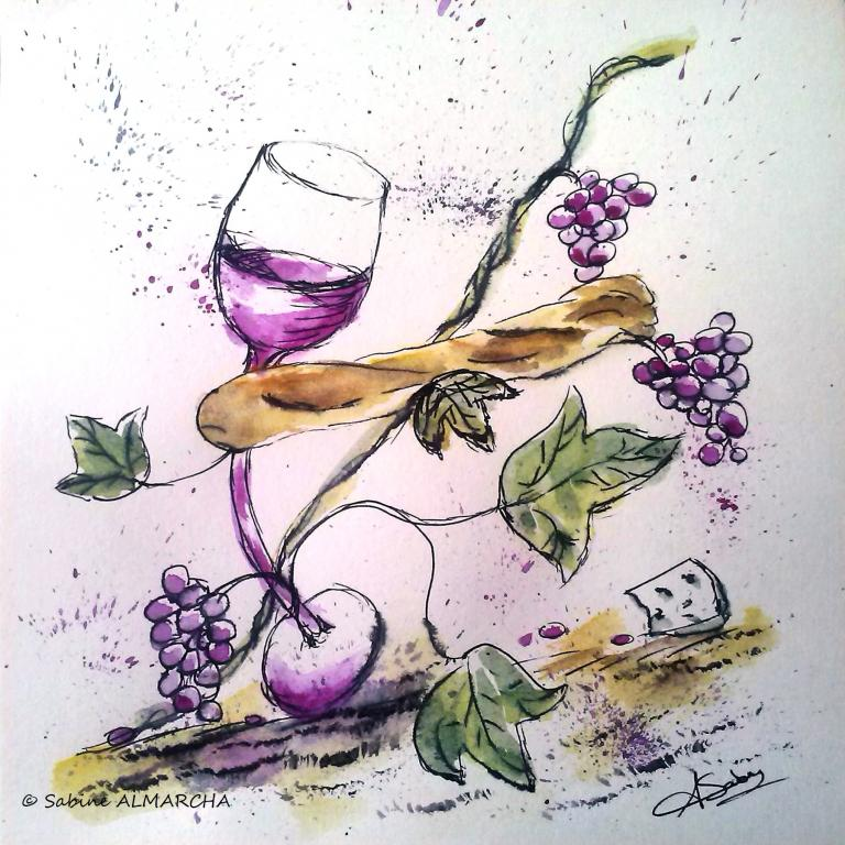 Le raisin. 2