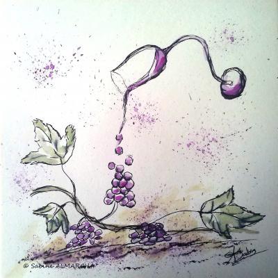 Le raisin. 4