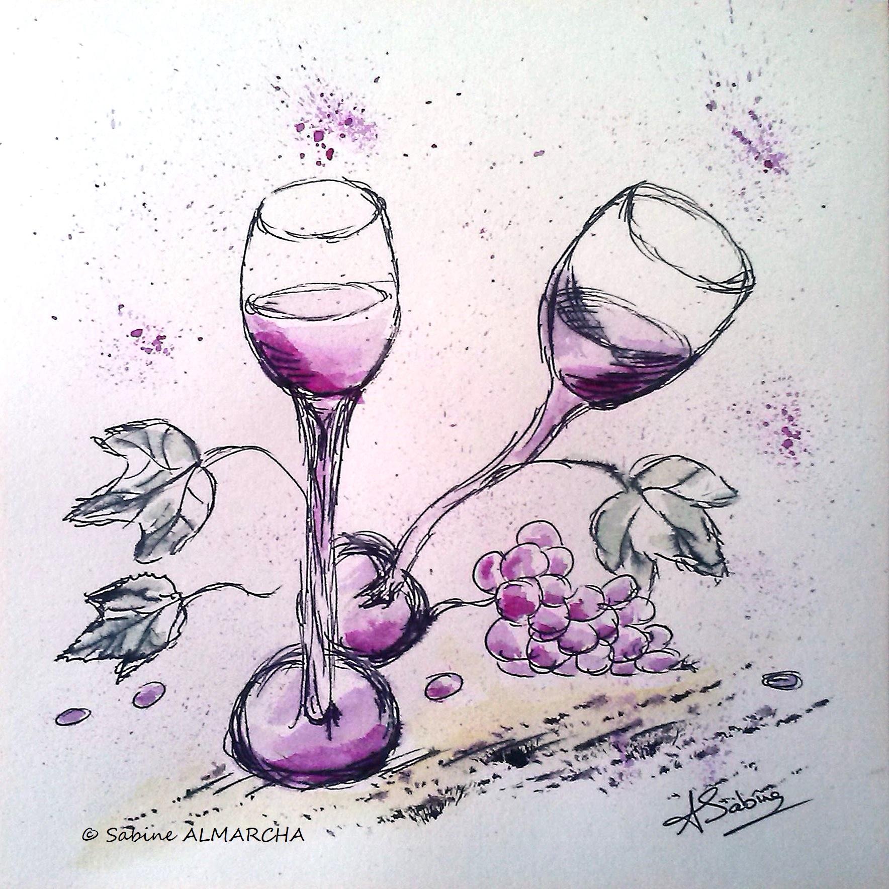 Le raisin. 8