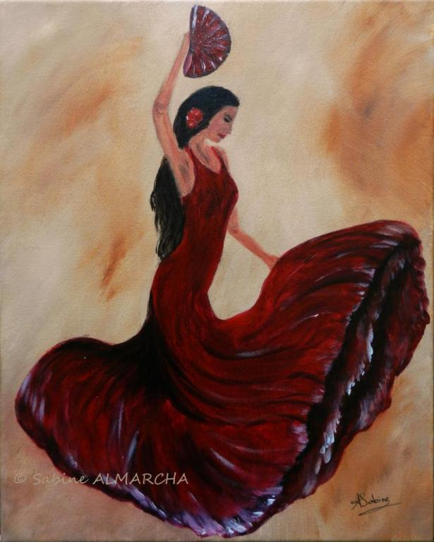 danseuse flamenco