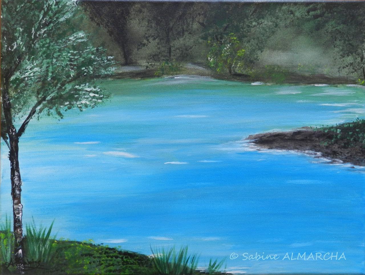 l'étang de la brume
