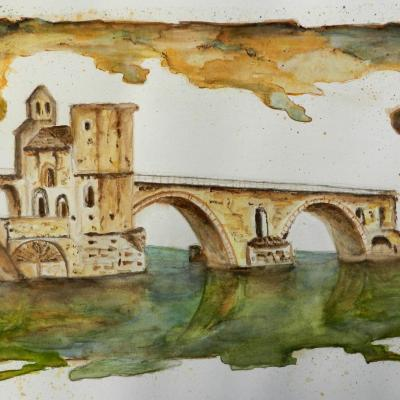 Pont d'avignon 'Pont Bénézet'