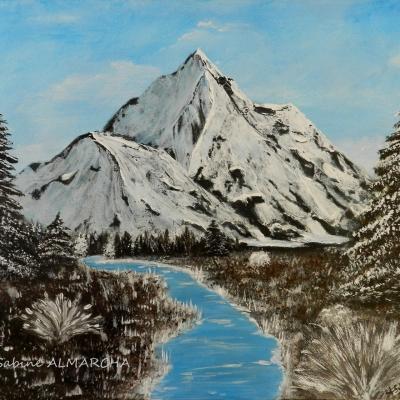 Paysages - Peinture acrylique